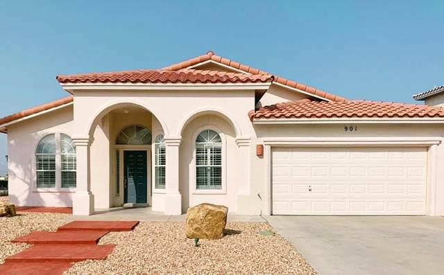 901 Las Pistas Place, El Paso, TX 79912 (MLS #835957) :: Jackie Stevens Real Estate Group brokered by eXp Realty