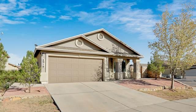 4916 Marcella Santillana Street, El Paso, TX 79938 (MLS #836178) :: The Purple House Real Estate Group