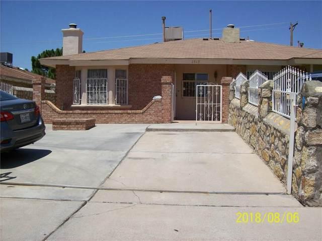 1913 Estrada Drive, El Paso, TX 79936 (MLS #836299) :: Preferred Closing Specialists