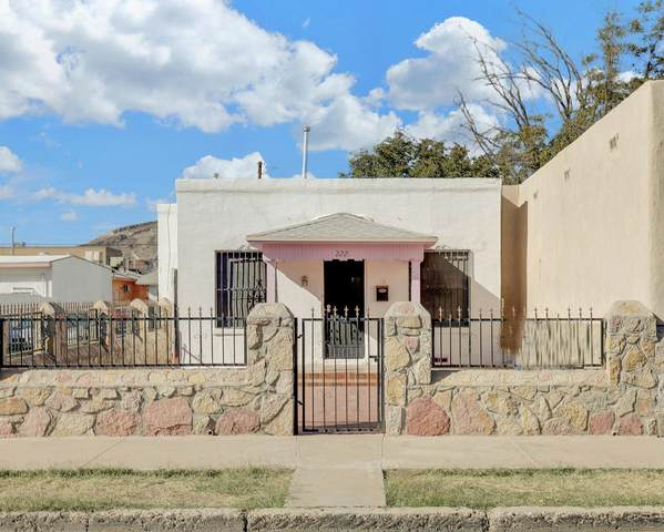 2221 Bassett Avenue, El Paso, TX 79901 (MLS #837100) :: The Purple House Real Estate Group