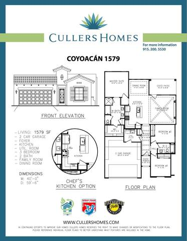 991 Hull Street, El Paso, TX 79928 (MLS #837155) :: The Purple House Real Estate Group