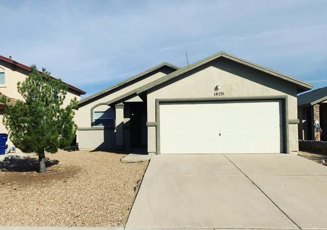 14351 Pacific Point Drive, El Paso, TX 79938 (MLS #837327) :: The Matt Rice Group