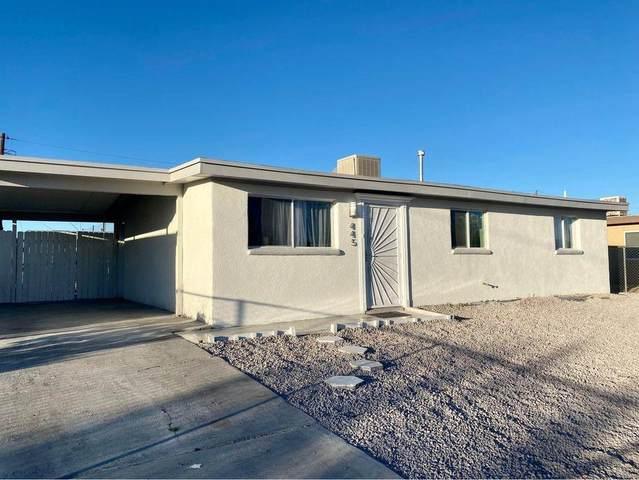 445 Mccarthy Avenue, El Paso, TX 79915 (MLS #837888) :: The Matt Rice Group