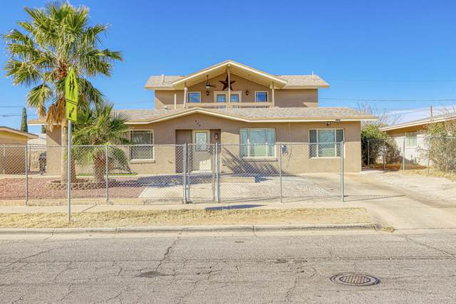 439 Link Drive, El Paso, TX 79907 (MLS #838207) :: The Purple House Real Estate Group