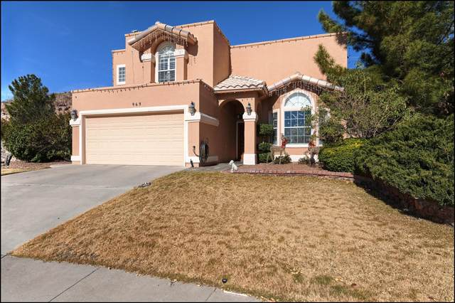 969 Isla Azul Place, El Paso, TX 79912 (MLS #838565) :: The Purple House Real Estate Group
