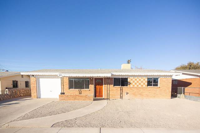 5821 Dolphin Drive, El Paso, TX 79924 (MLS #839016) :: The Purple House Real Estate Group