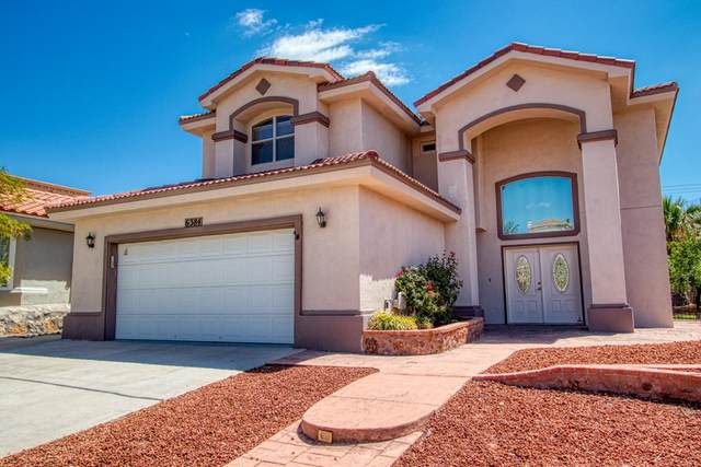 6384 Franklin Gate Drive, El Paso, TX 79912 (MLS #839032) :: The Purple House Real Estate Group