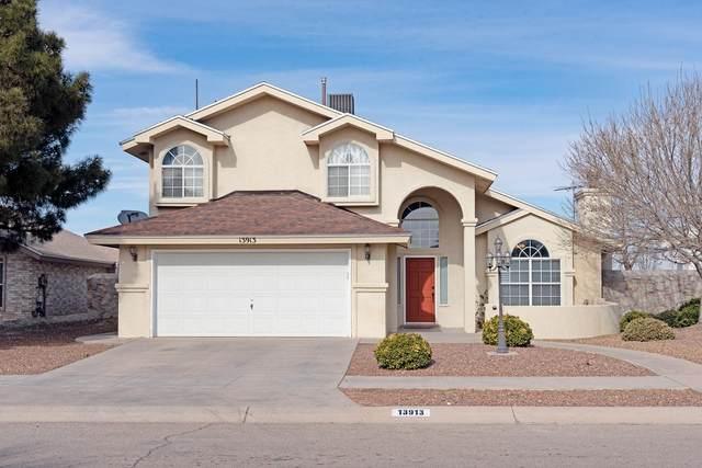 13913 Blooming Desert Drive, Horizon City, TX 79928 (MLS #839471) :: Preferred Closing Specialists