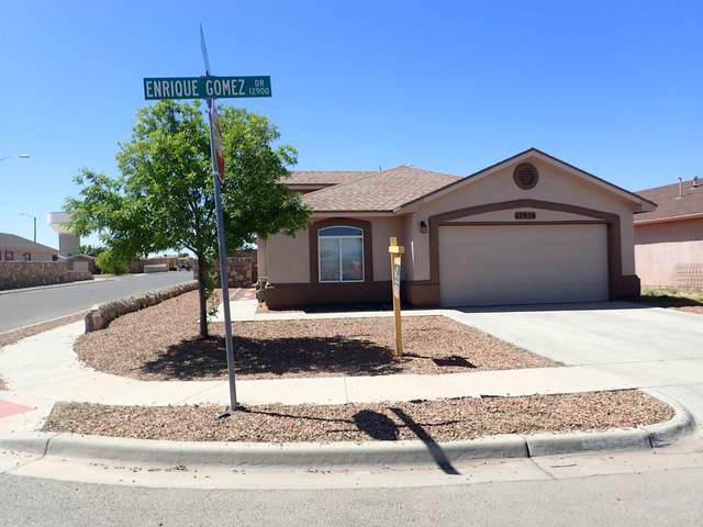12976 Enrique Gomez Lane, El Paso, TX 79938 (MLS #839823) :: The Purple House Real Estate Group