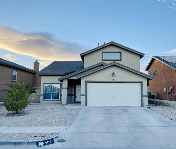 407 Oakhurst Lane, Horizon City, TX 79928 (MLS #840561) :: Mario Ayala Real Estate Group