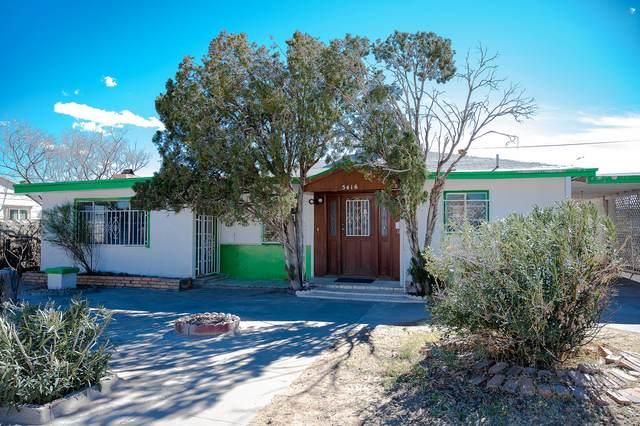 5416 Homer Circle, El Paso, TX 79904 (MLS #840737) :: Summus Realty