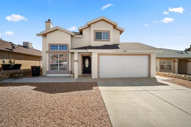 536 Sun Ray, El Paso, TX 79928 (MLS #841796) :: Mario Ayala Real Estate Group