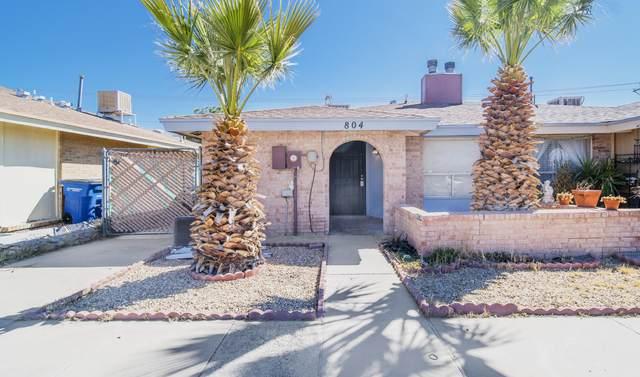 804 Montera Road, El Paso, TX 79907 (MLS #841828) :: Jackie Stevens Real Estate Group brokered by eXp Realty
