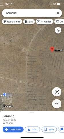 Lomond Tbd, Horizon City, TX 79928 (MLS #842646) :: Preferred Closing Specialists