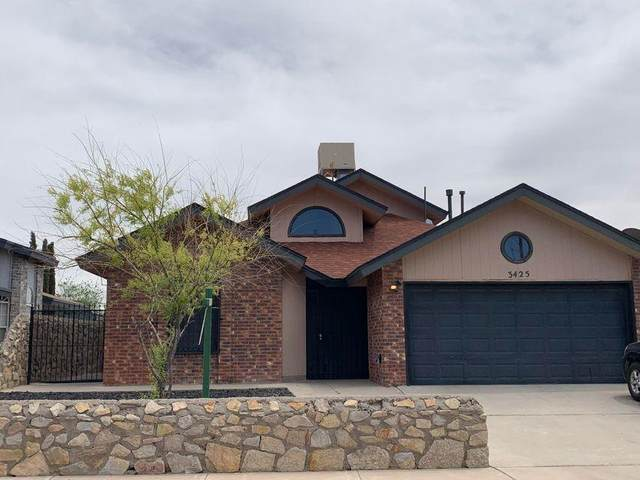 3425 Buffalo Soldier Circle, El Paso, TX 79936 (MLS #843039) :: Mario Ayala Real Estate Group