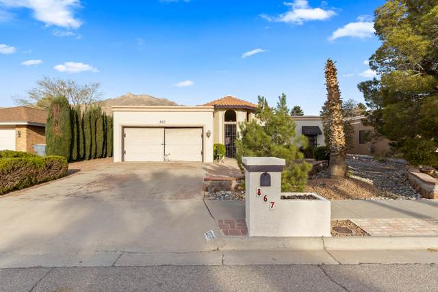 867 Dulce Tierra Drive, El Paso, TX 79912 (MLS #843567) :: The Purple House Real Estate Group
