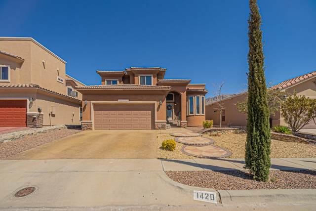 1420 Franklin Dell Street, El Paso, TX 79912 (MLS #844276) :: The Matt Rice Group