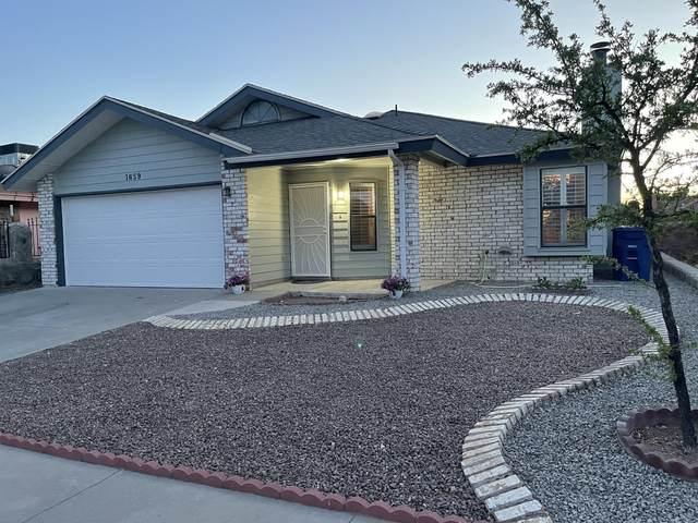 1659 Dennis Babjack Drive, El Paso, TX 79936 (MLS #844662) :: Preferred Closing Specialists