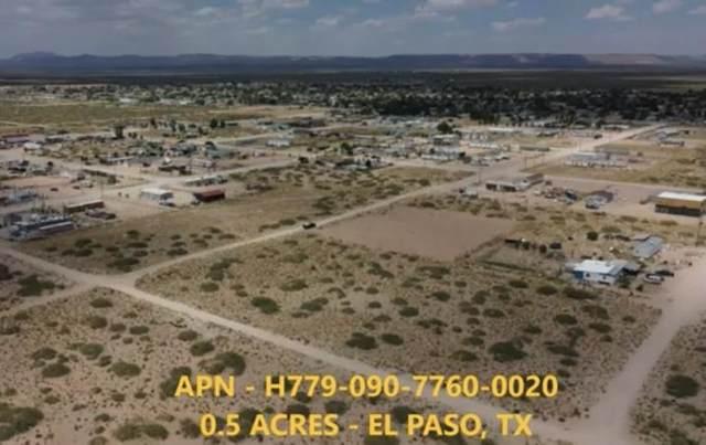 0 Ballaston, Horizon City, TX 79928 (MLS #844922) :: Mario Ayala Real Estate Group