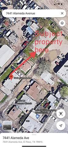 7441 Alameda Rear Lot Avenue, El Paso, TX 79915 (MLS #844925) :: Summus Realty