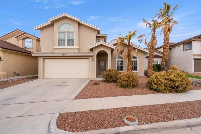 1643 Playa Del Sol Street, El Paso, TX 79911 (MLS #845103) :: Summus Realty