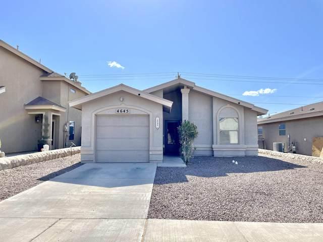 4645 Adan Fuentes Street, El Paso, TX 79938 (MLS #845363) :: Summus Realty
