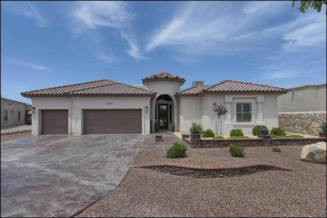 909 Aztec Dove Lane, El Paso, TX 79932 (MLS #845411) :: The Purple House Real Estate Group