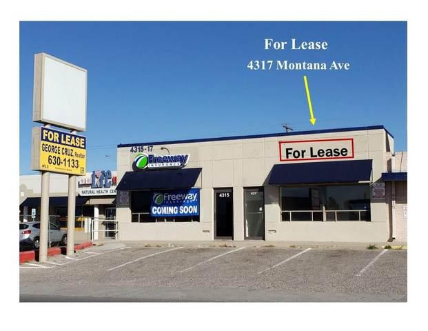 4317 Montana Avenue, El Paso, TX 79903 (MLS #845545) :: Red Yucca Group