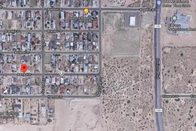 TBD Barnard Drive, El Paso, TX 79928 (MLS #845575) :: The Purple House Real Estate Group