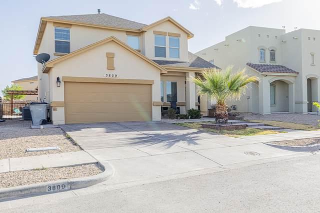 3809 Loma Reina, El Paso, TX 79938 (MLS #845683) :: Red Yucca Group