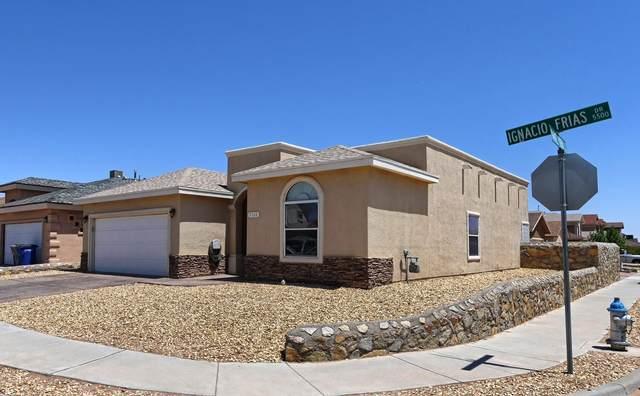 5520 Ignacio Frias Drive, El Paso, TX 79934 (MLS #845833) :: The Matt Rice Group