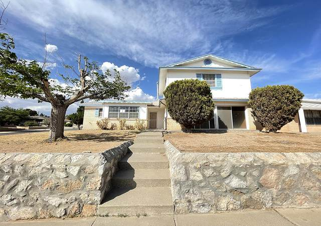 6209 Caprock Court, El Paso, TX 79912 (MLS #845849) :: Mario Ayala Real Estate Group