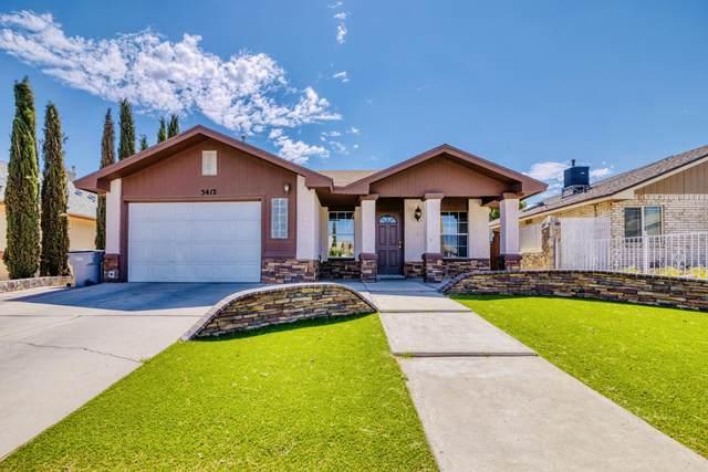 3412 Oxcart Run Street, El Paso, TX 79936 (MLS #846206) :: The Matt Rice Group