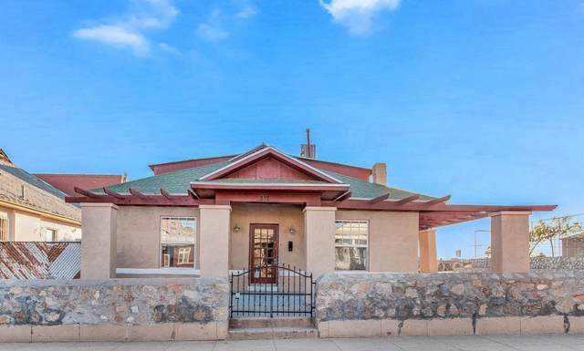 812 Mundy Drive, El Paso, TX 79902 (MLS #846402) :: The Matt Rice Group
