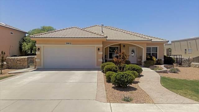 5913 Anapaula Drive, El Paso, TX 79932 (MLS #846759) :: Mario Ayala Real Estate Group