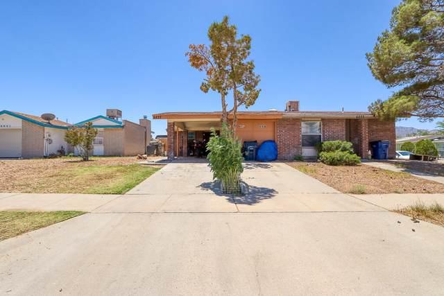 6037 Morning Glory Circle, El Paso, TX 79924 (MLS #846770) :: Jackie Stevens Real Estate Group