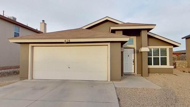 478 Thunder Bluff Place, El Paso, TX 79928 (MLS #846821) :: Mario Ayala Real Estate Group