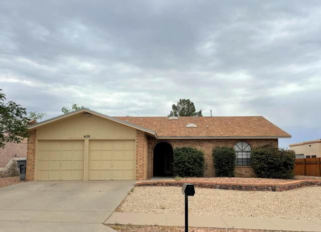 650 El Parque Drive, El Paso, TX 79912 (MLS #847039) :: The Matt Rice Group