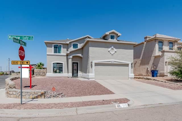 3171 Matthew Lutz Place, El Paso, TX 79938 (MLS #847044) :: Preferred Closing Specialists