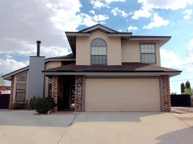 705 Springfire Drive, El Paso, TX 79912 (MLS #847235) :: The Matt Rice Group