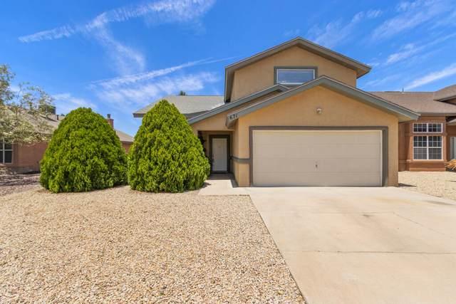 671 Juan Munoz Court, El Paso, TX 79932 (MLS #847657) :: Jackie Stevens Real Estate Group