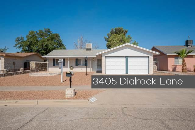 3405 Dialrock Lane, El Paso, TX 79935 (MLS #847664) :: The Purple House Real Estate Group