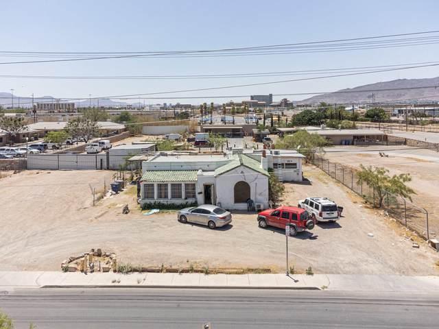 165 N Glenwood Street, El Paso, TX 79905 (MLS #847766) :: Jackie Stevens Real Estate Group
