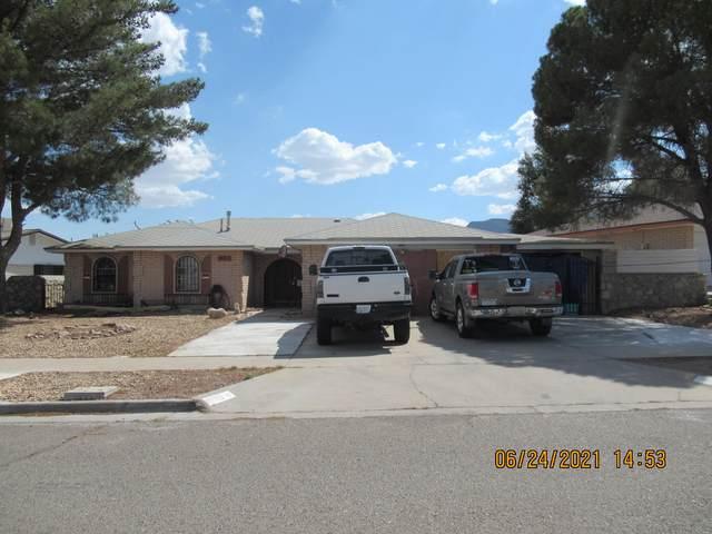 10713 Captain Valtr Street, El Paso, TX 79924 (MLS #847979) :: Red Yucca Group