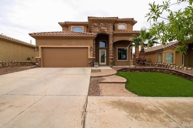 260 Covington Ridge Way, El Paso, TX 79928 (MLS #848393) :: Red Yucca Group