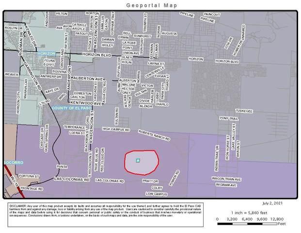 TBD Tbd Horizon Near S. Ascencion, Horizon City, TX 79928 (MLS #848433) :: Red Yucca Group
