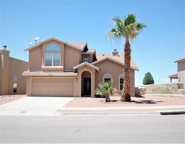 7351 Camino Del Sol Drive, El Paso, TX 79911 (MLS #848477) :: Red Yucca Group