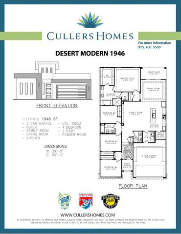 12728 Dorcheseter Avenue, El Paso, TX 79928 (MLS #848580) :: Preferred Closing Specialists