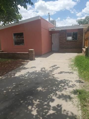 809 Silvestre Road, El Paso, TX 79907 (MLS #848640) :: Red Yucca Group