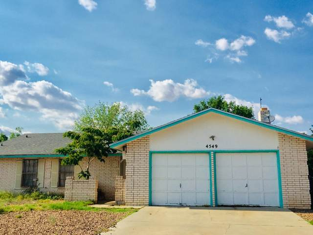 4549 Rutherford Drive, El Paso, TX 79924 (MLS #848725) :: Red Yucca Group